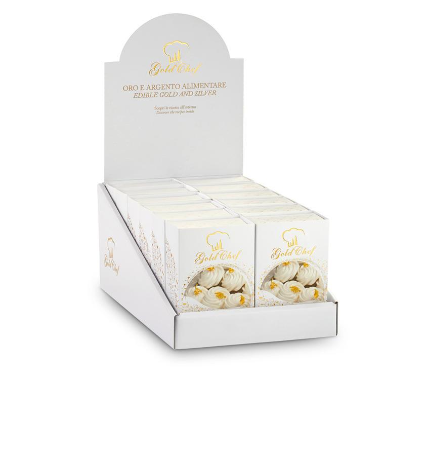 Fiocchi oro Espositore Fiocchi Oro 125 mg