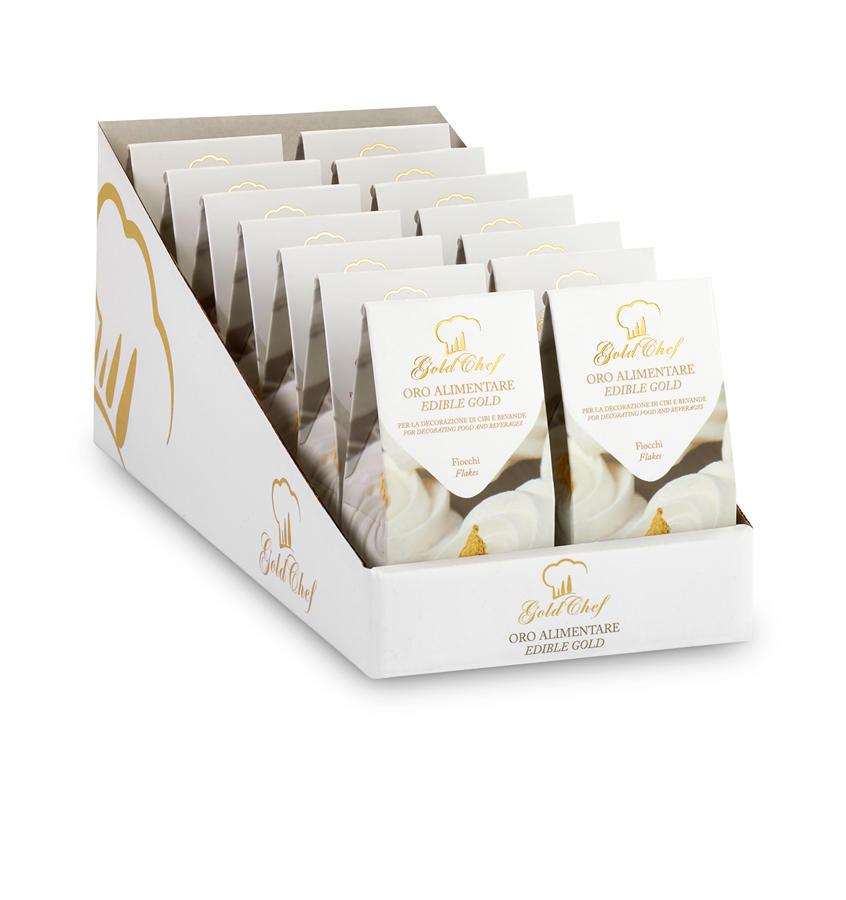 Fiocchi oro Espositore Fiocchi Oro 70 mg